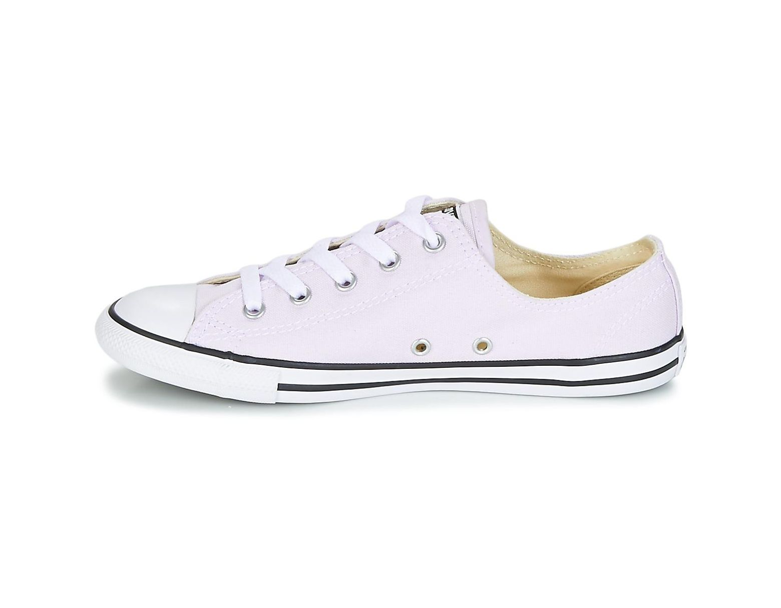 365d46dac67f6 Converse Chuck Taylor All Star Dainty Ox Canvas Color Women's Shoes ( trainers) In Purple in Purple - Lyst