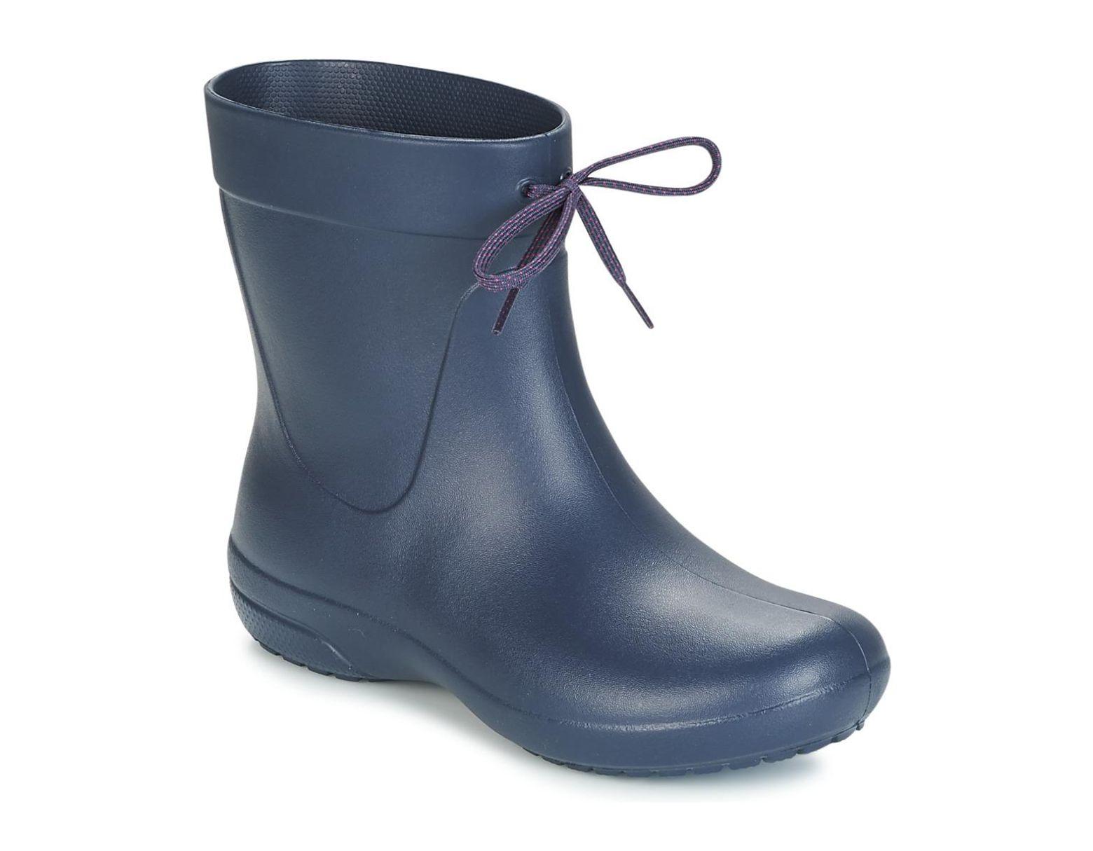 0d7047471463 Crocs™ Freesail Shorty Rain Boot Wellington Boots in Blue - Save 59% - Lyst