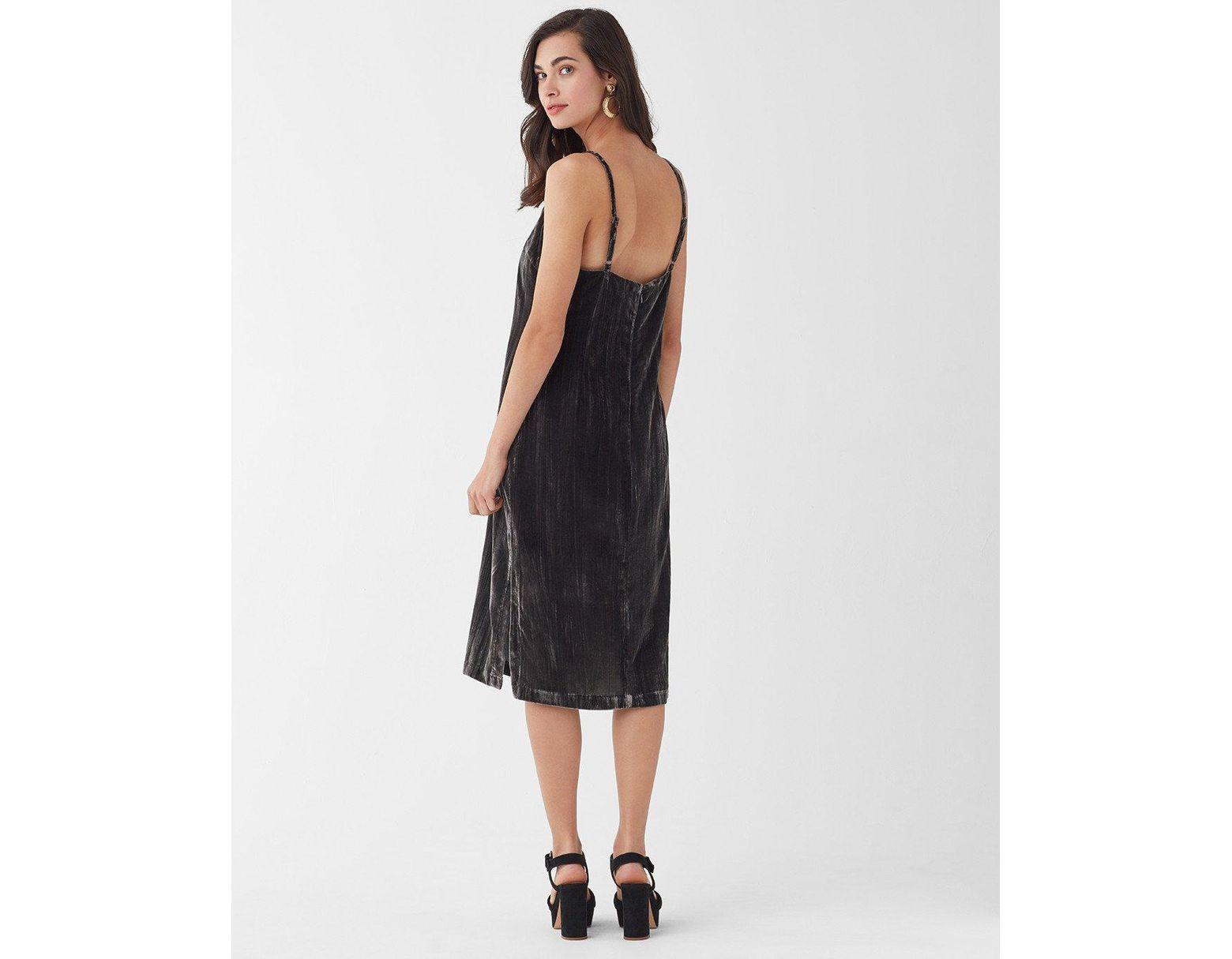 d8c26016fb6f Splendid Moonstone Velvet Dress in Black - Save 67% - Lyst