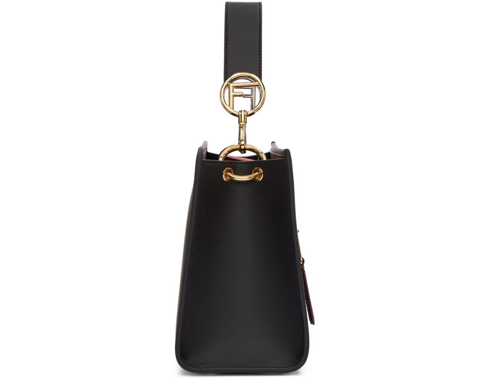 f43a4a2779 Fendi Black Small Forever Runaway Bag in Black - Save 36% - Lyst