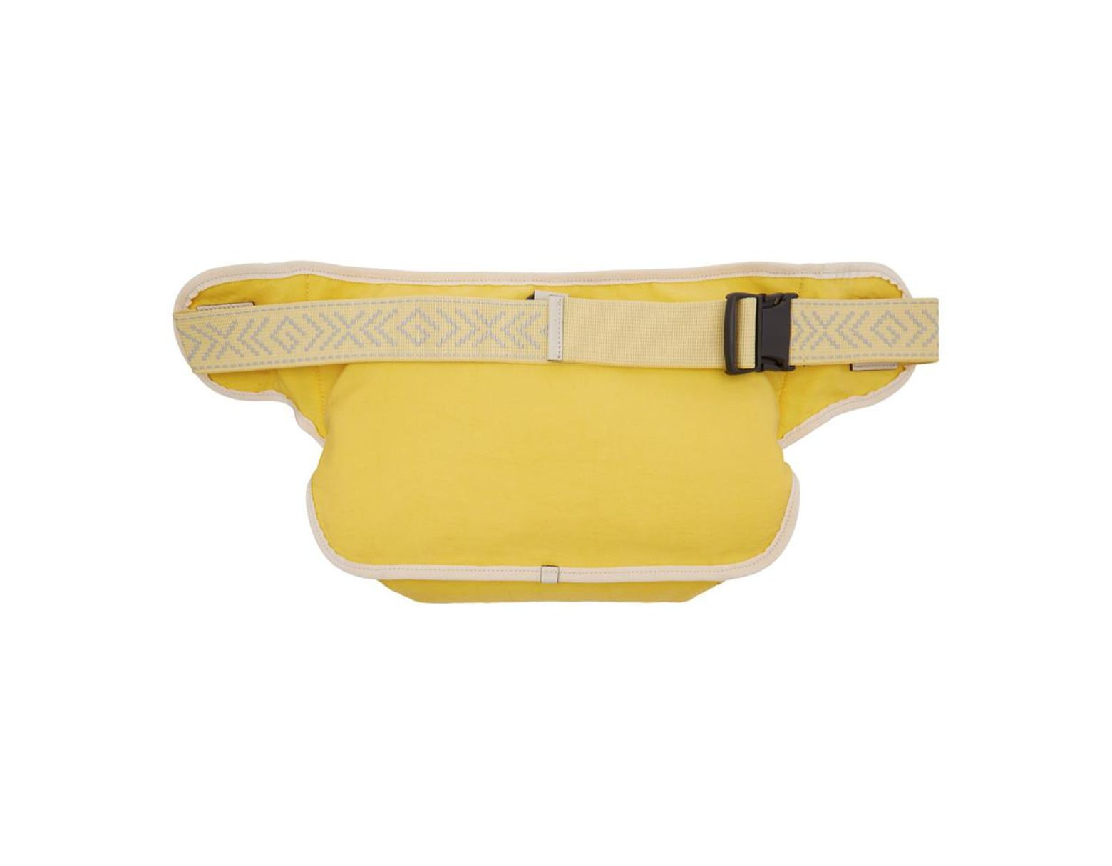 9607ac77f56f Gucci Yellow Blind For Love Pouch in Yellow for Men - Lyst