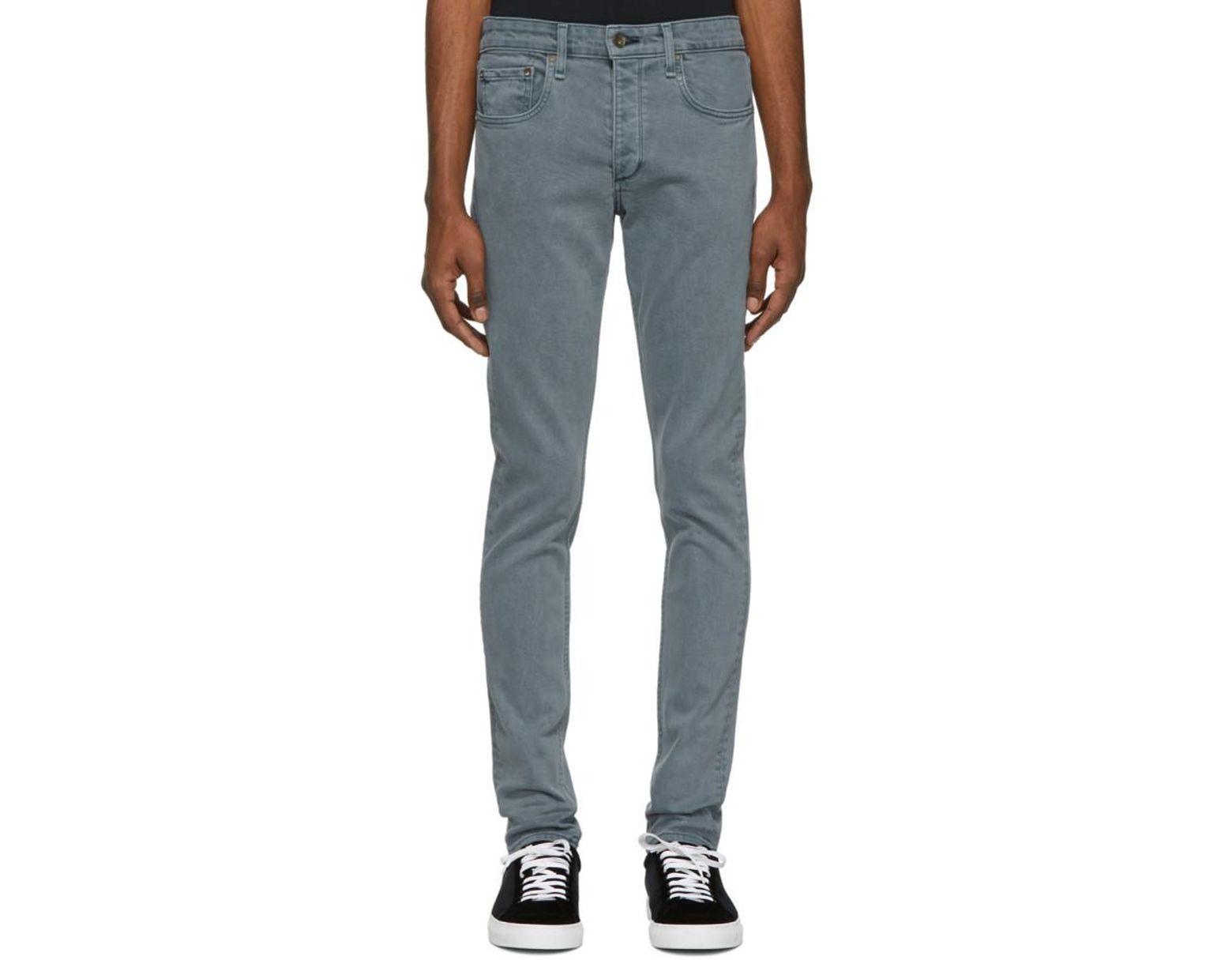 6cf0195365ffe2 Rag & Bone Blue Sausalito Fit 1 Jeans in Blue for Men - Lyst