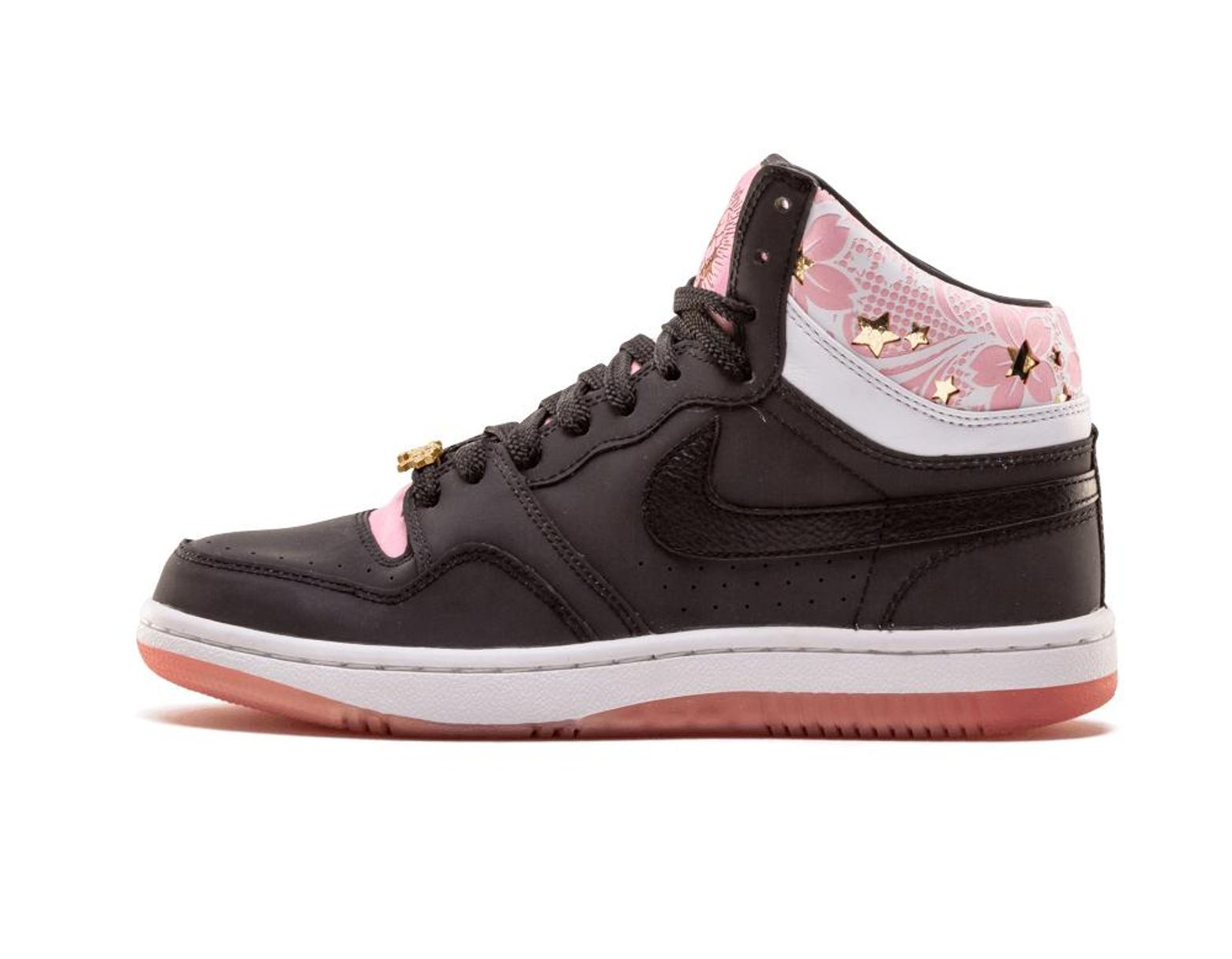 sale retailer 6edd7 35f8b Nike. Men s Black Court Force Hi Prm Sakura