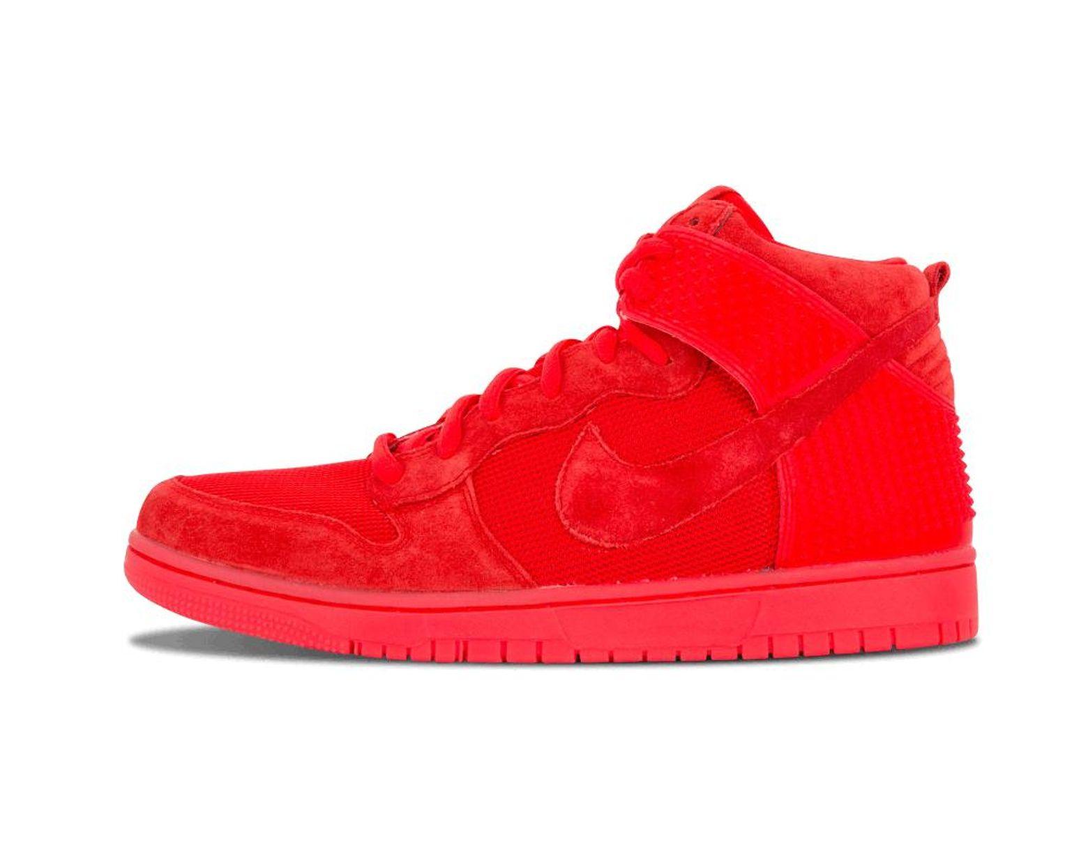hot sale online 8dd8b 6bd38 Nike. Men s Dunk Cmft Prm  red October  - Size 10