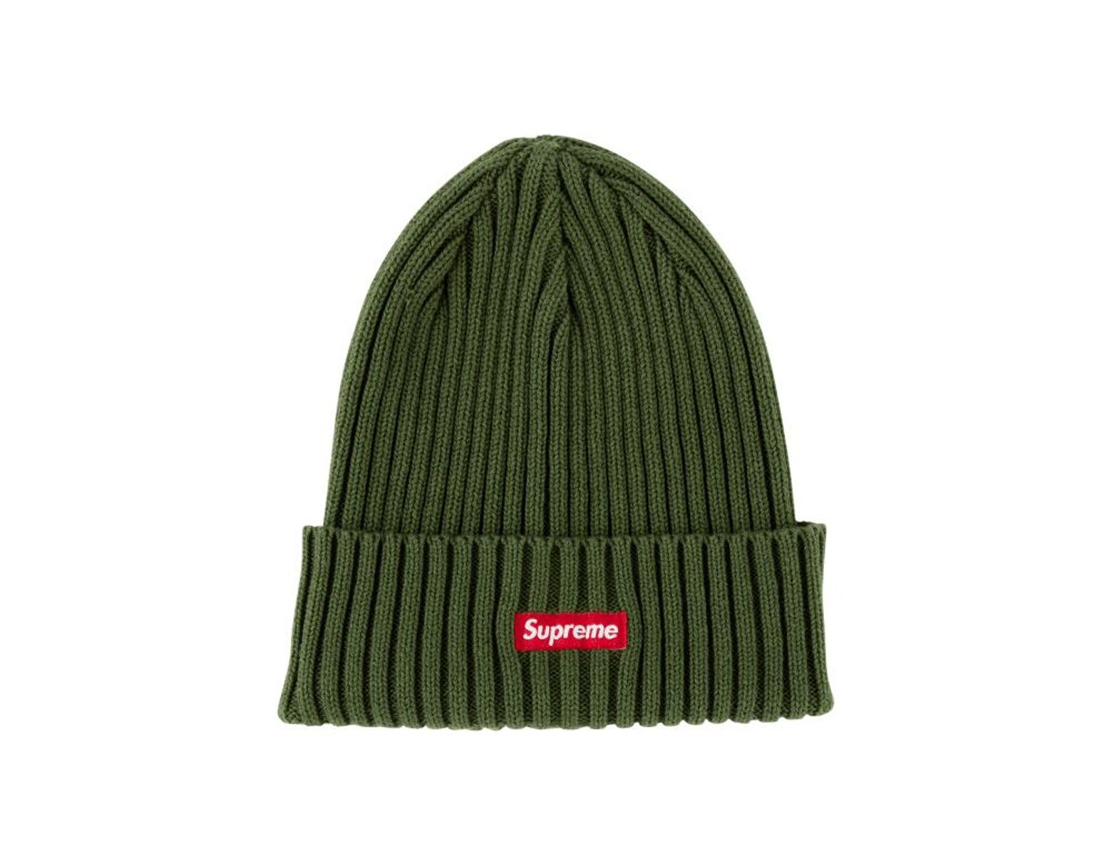 6efc886c Supreme Overdyed Ribbed Beanie Hat 'ss 18' in Green - Save 39% - Lyst