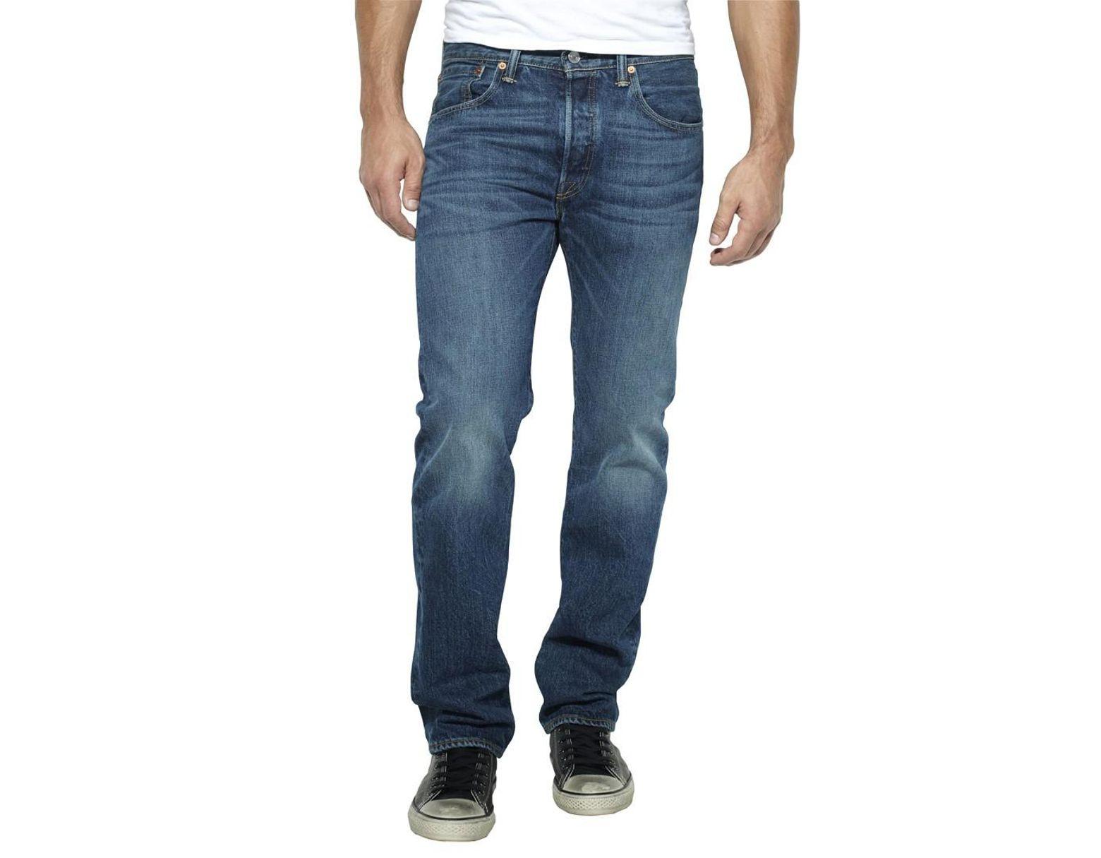 61e9a62d987 Levi's Hook Wash 501 Regular Fit Jeans in Blue for Men - Lyst