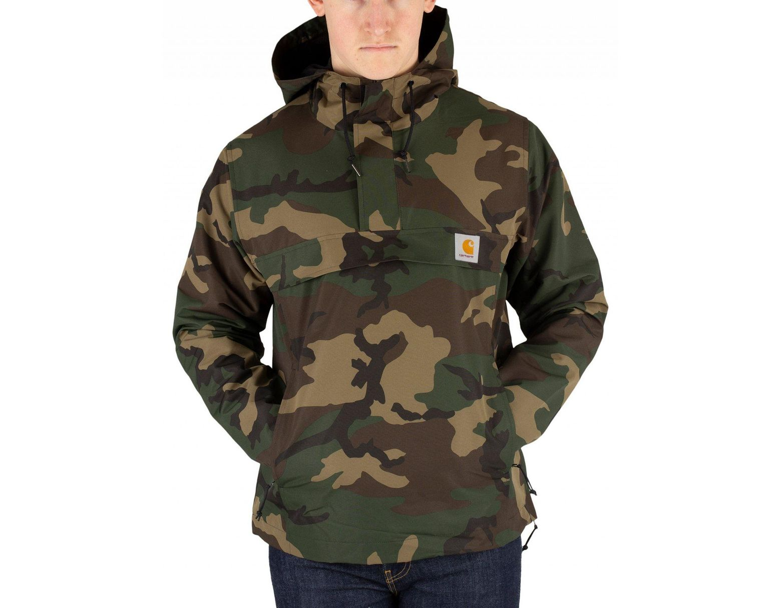 9a19a0a6 Carhartt WIP Camo Laurel Nimbus Pullover Jacket in Green for Men - Save 21%  - Lyst