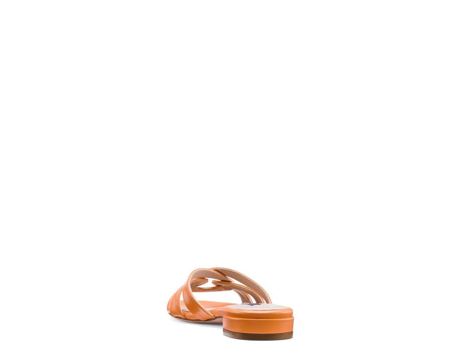 9b46ea7fb7fa Lyst - Stuart Weitzman The Cami Sandal
