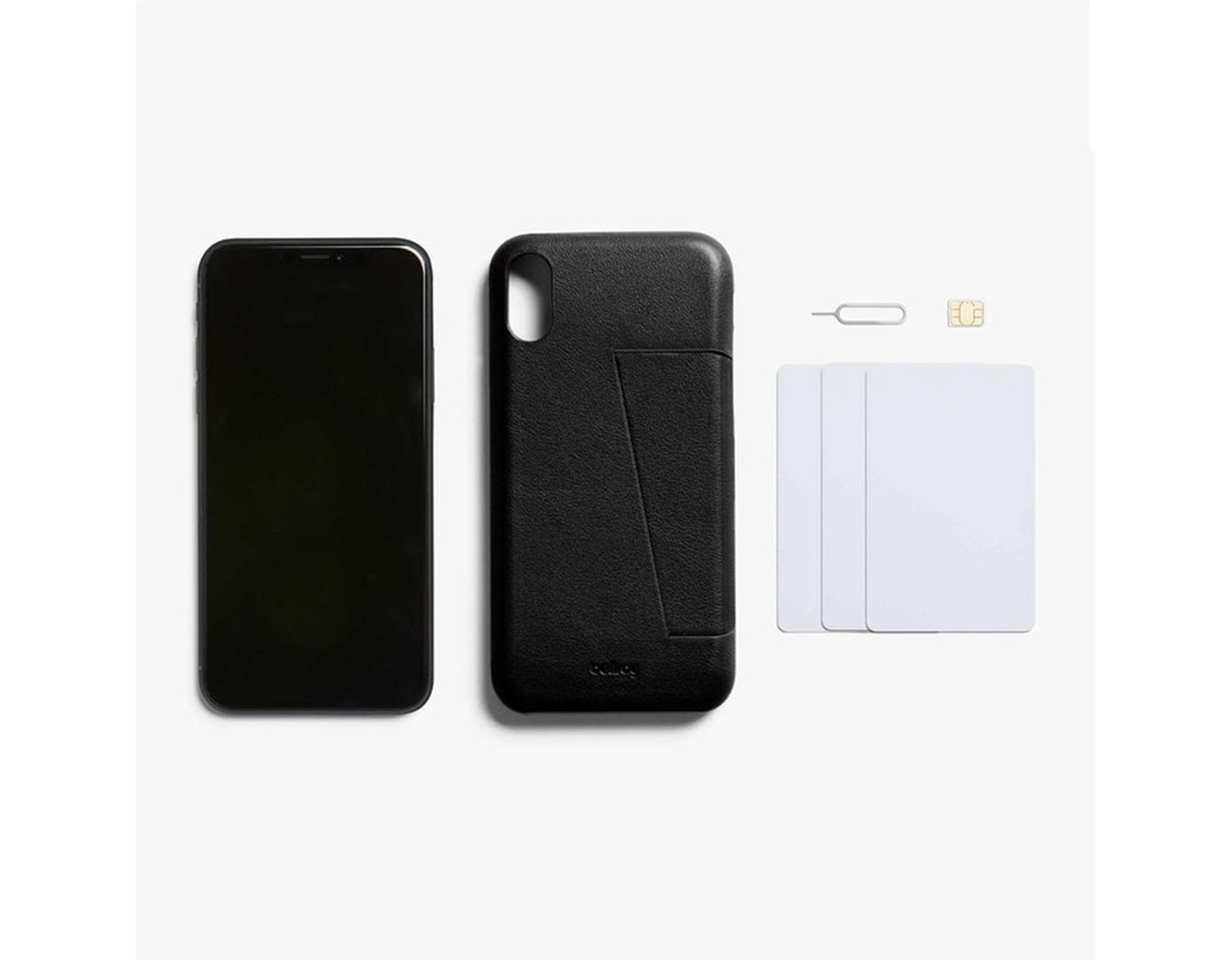 6622bb1082 Bellroy Iphone Xs Max 3 Card Phone Case - Black in Black for Men - Lyst