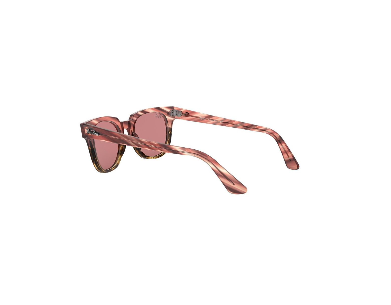 e47e300088 Ray-Ban Meteor Striped Havana Pink in Pink - Lyst