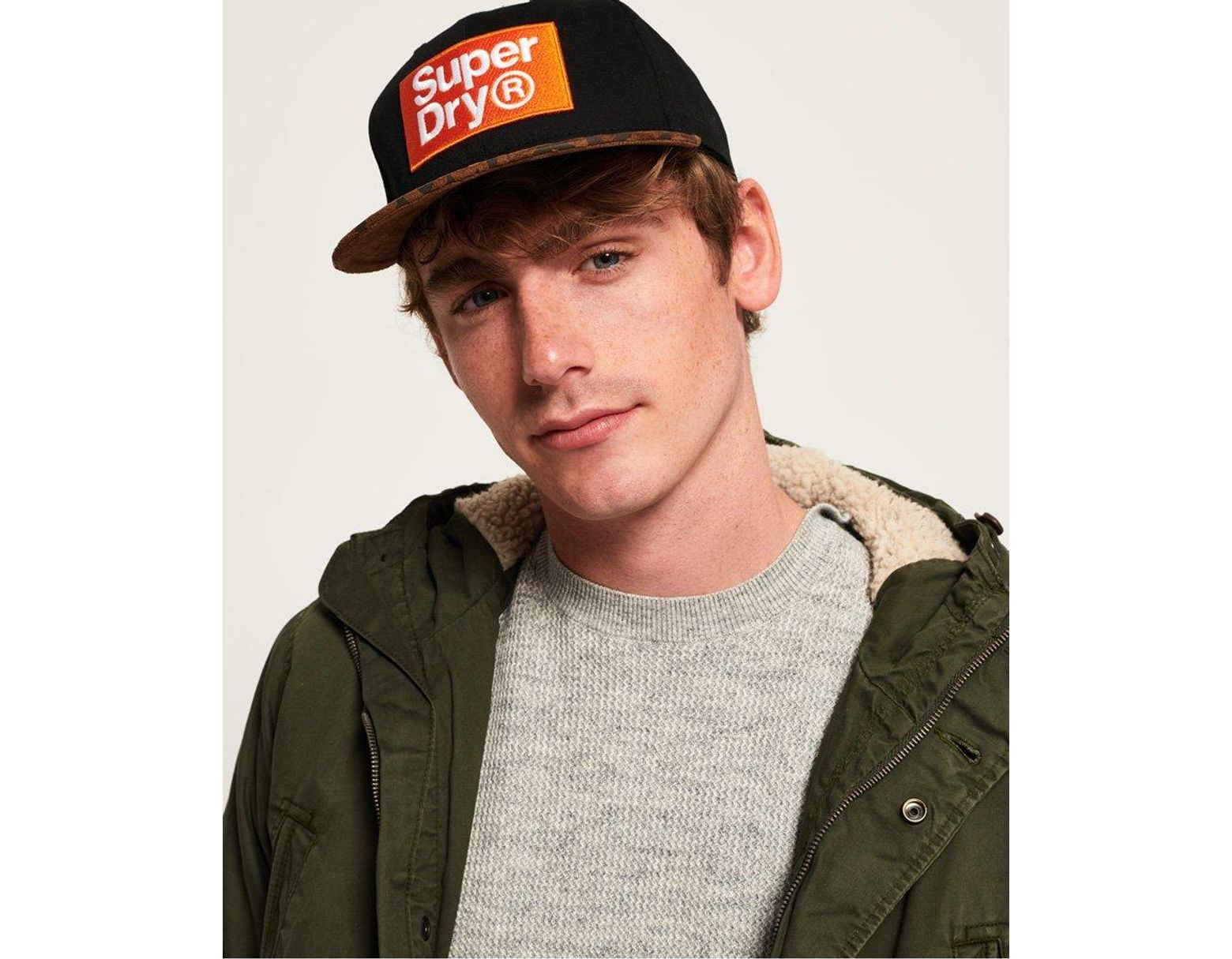 9925ef56b Superdry B Boy Cap for Men - Lyst