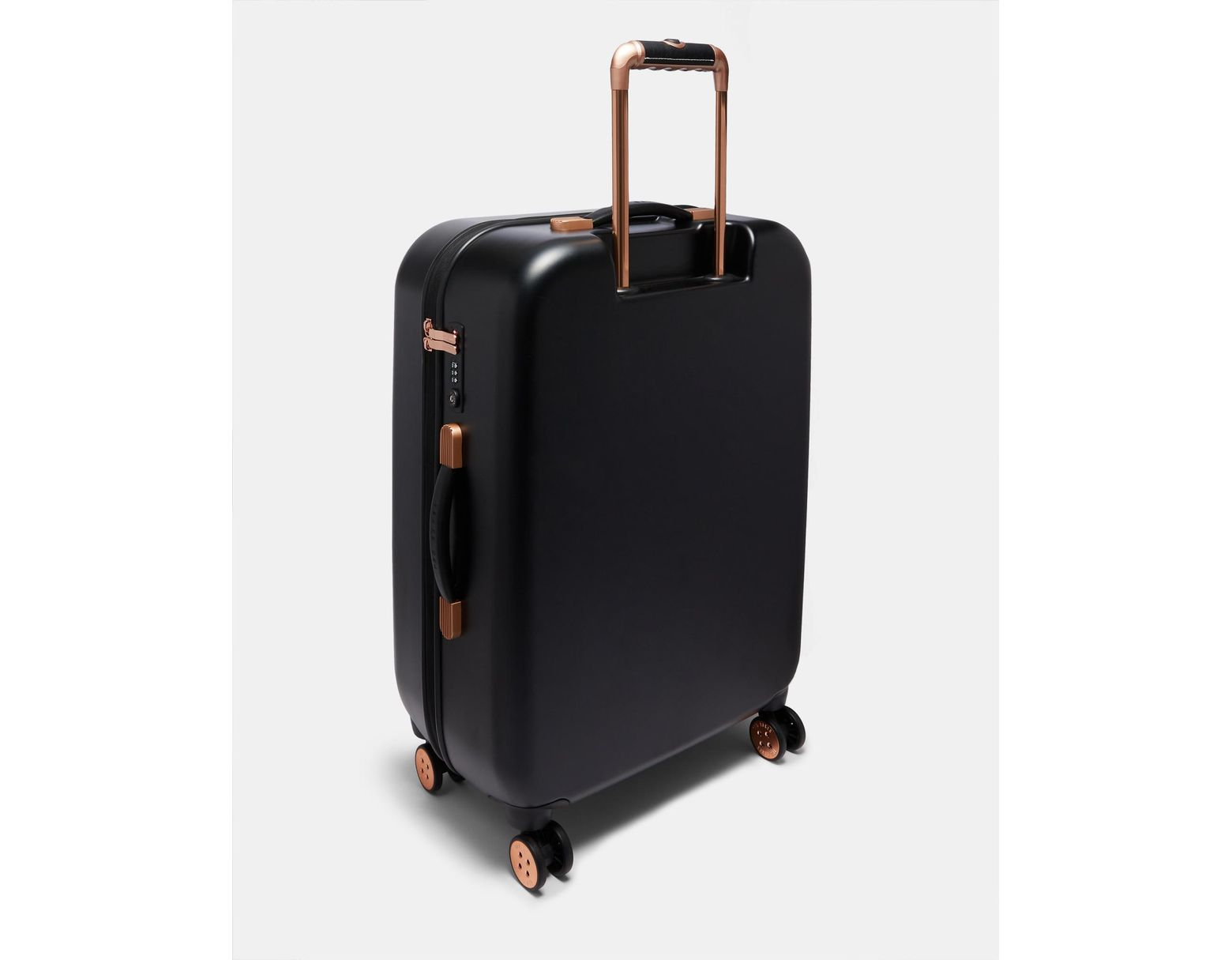 7c03cedb9b Ted Baker Bow Detail Medium Suitcase in Black - Lyst