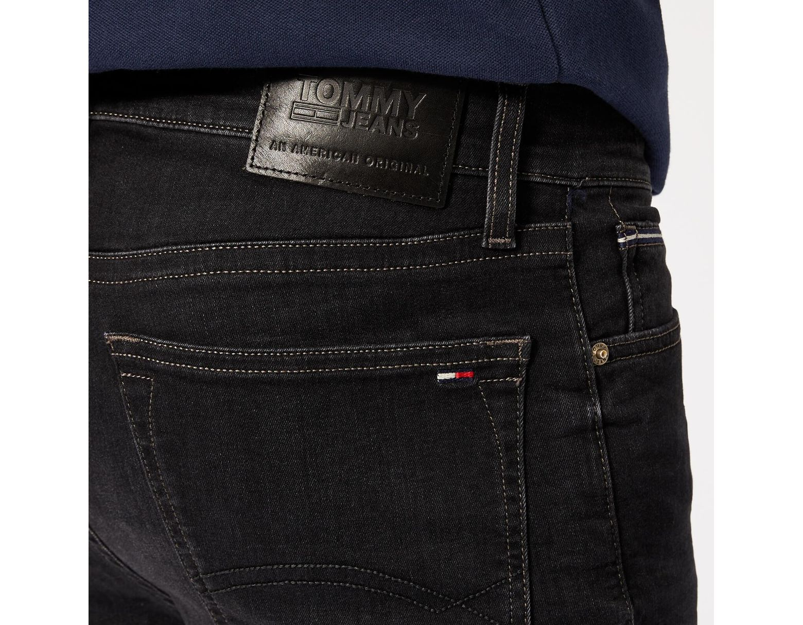 0ebafa6da Tommy Hilfiger Skinny Simon Jeans in Black for Men - Lyst
