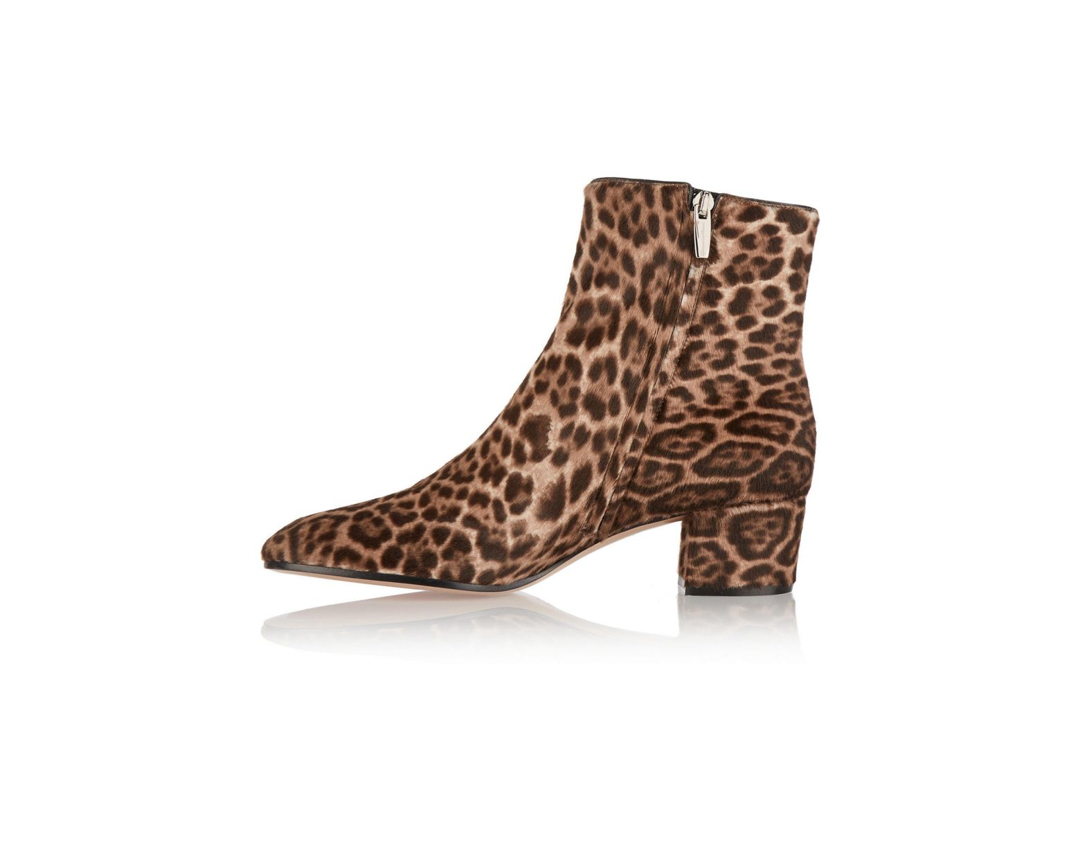4592c3637129 Gianvito Rossi Leopard-print Calf Hair Ankle Boots Animal Print in Brown -  Save 58% - Lyst