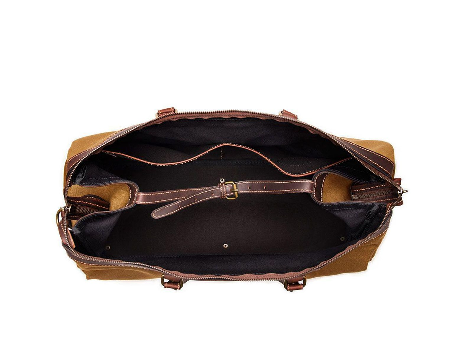 a7fc0c22f Ettinger Sand Brown Canvas Pursuits Hurlingham Overnight Bag in Brown for  Men - Lyst