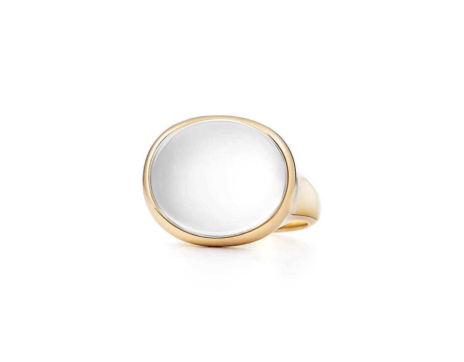 256119427 Tiffany & Co. Cabochon Ring in Metallic - Save 5% - Lyst