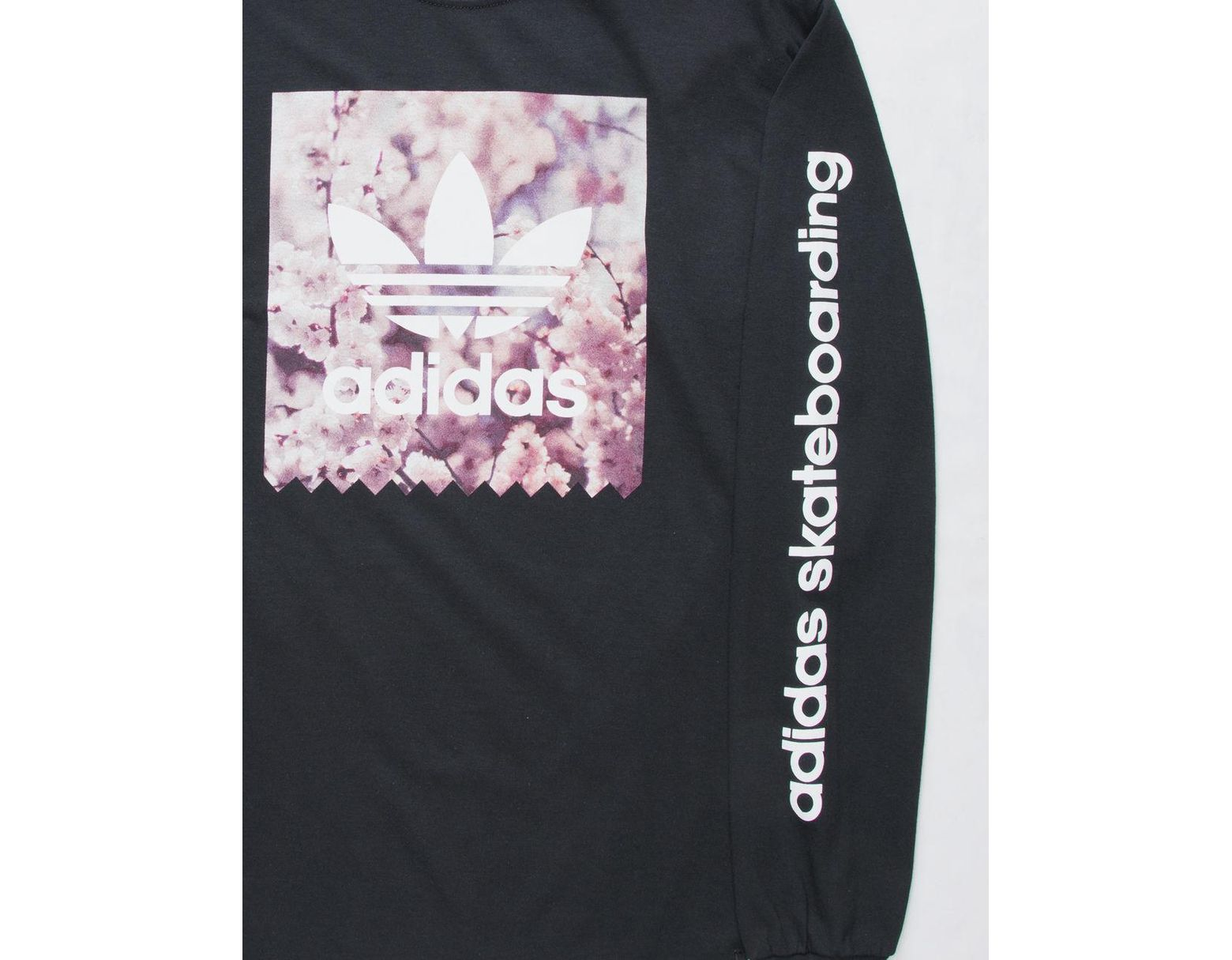 82946f12 adidas Cherry Blossom Blackbird Mens T-shirt in Black for Men - Lyst