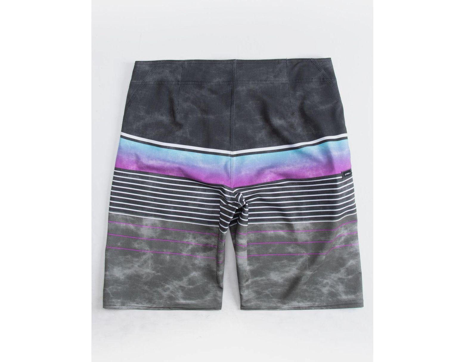 26b87a456e O'neill Sportswear Hyperfreak Heist Purple Mens Boardshorts in Purple for  Men - Lyst