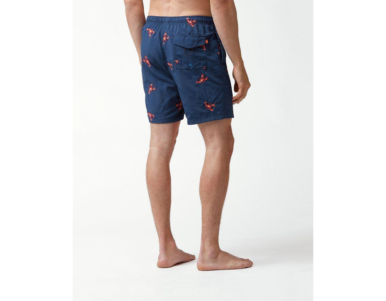 fe288e8f570 Lyst - Tommy Bahama Naples Lobster Coast 6-inch Swim Trunks in Blue for Men
