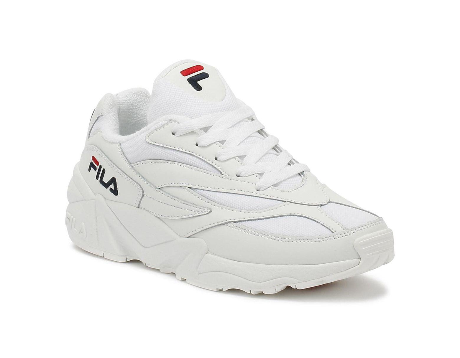 b79e04410 Fila Venom Low Womens White Trainers in White - Lyst