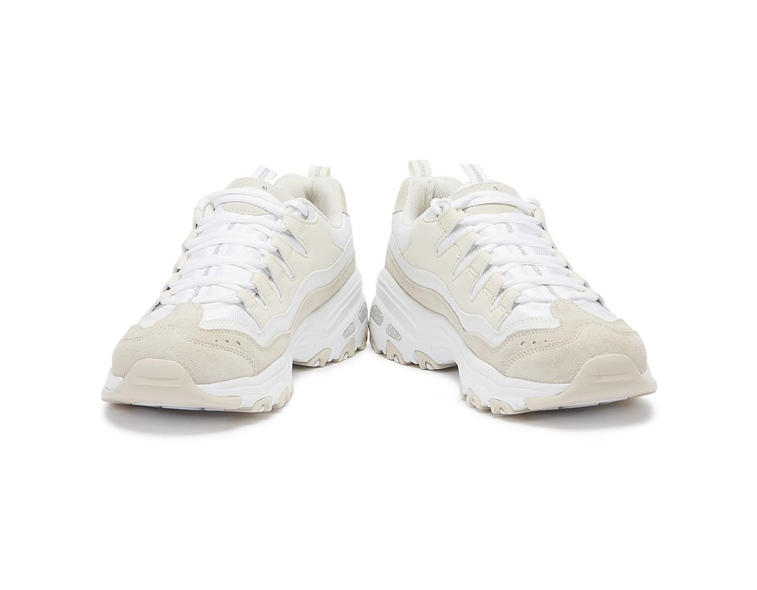 1f61f3c97e1be Skechers D'lites Sure Thing Womens White / Natural Trainers in White for  Men - Lyst