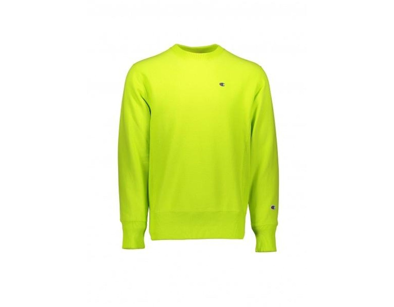 ef975a2f Champion Reverse Weave Sweatshirt in Green for Men - Lyst