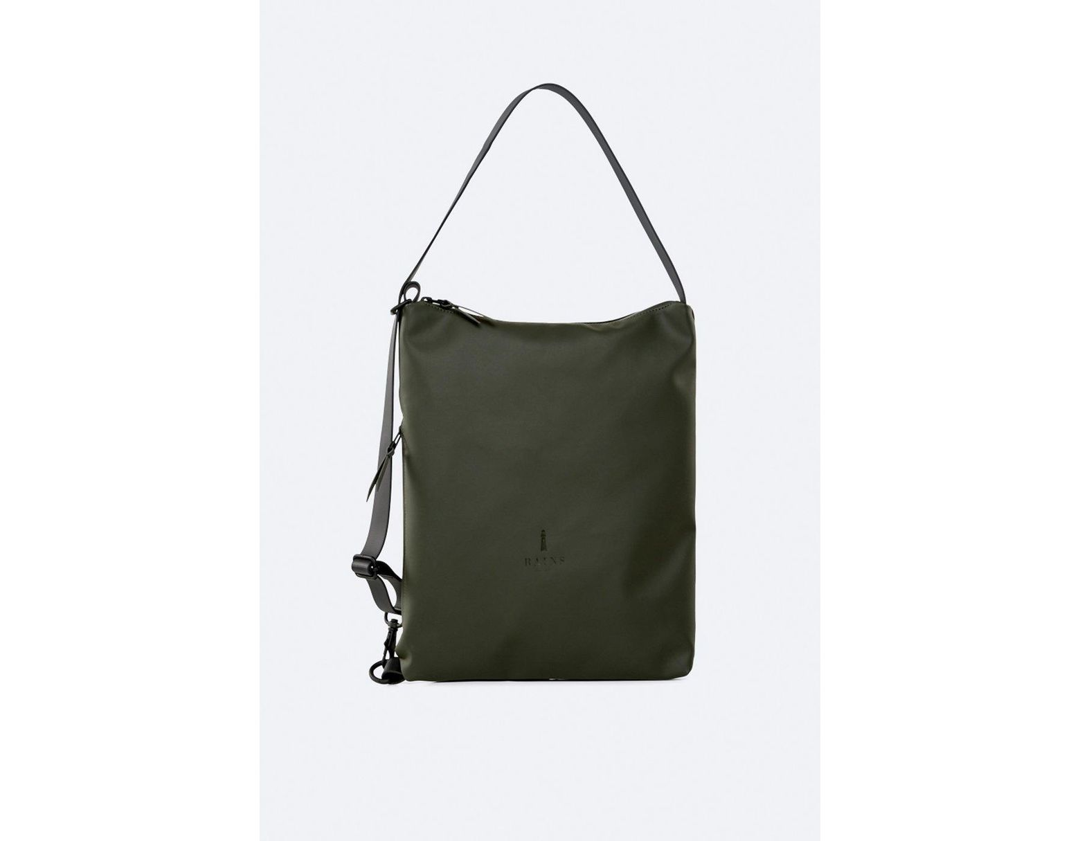 eed7a40c3 Rains Green Sling Bag in Green for Men - Lyst