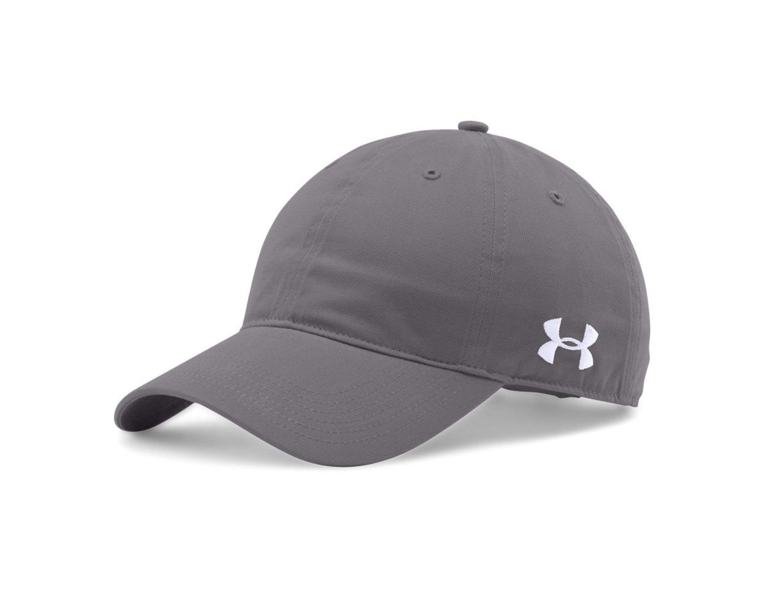 promo code f6bd9 884fd Under Armour Chino Relaxed Sport Hat Cap Osfm 1282140-040 (graphite white)  in Gray for Men - Lyst