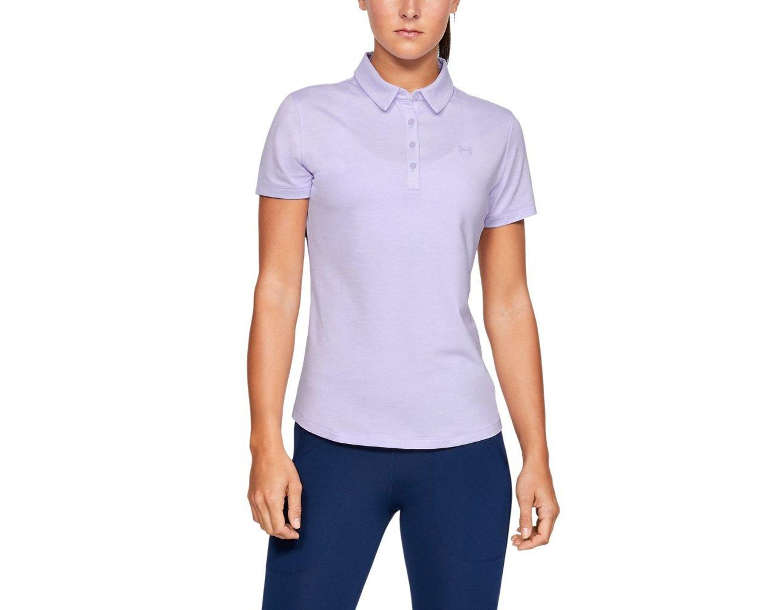 Purple Save Short Polo In 40 Sleeve Under Armour Women's Zinger Nm8vn0wO