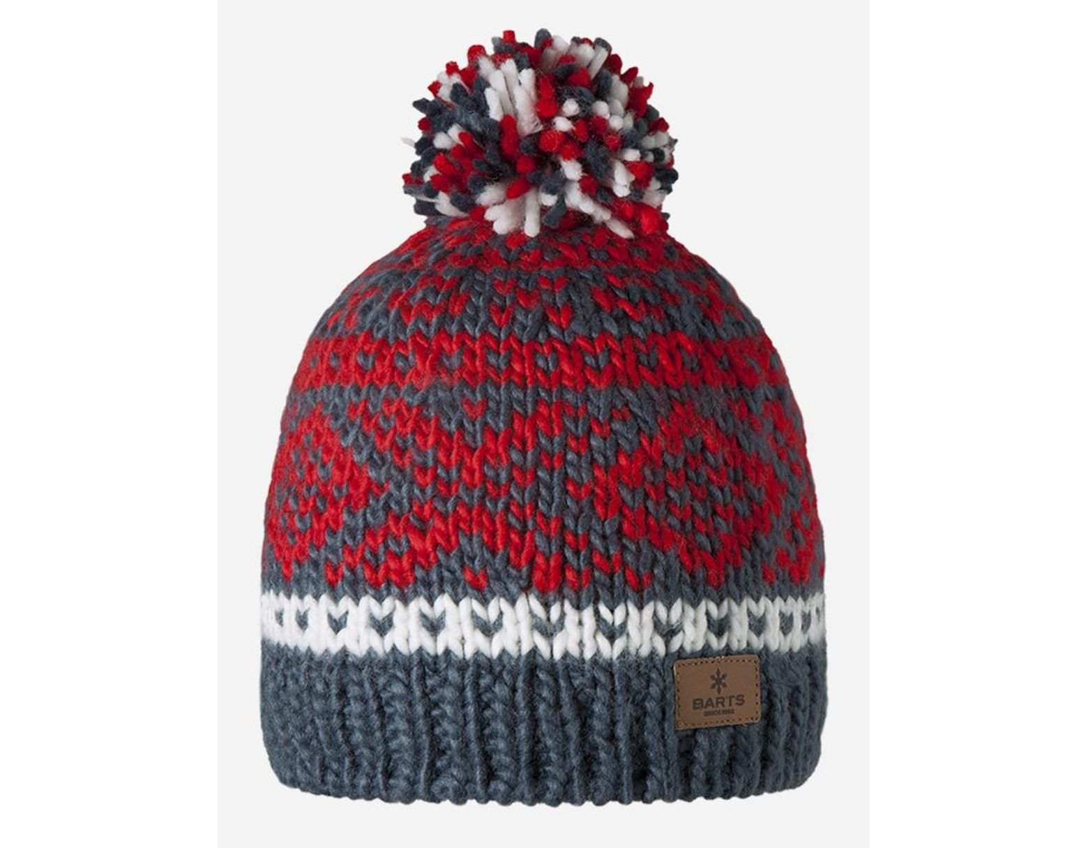 03c4f77026eb2a Barts Log Cabin Beanie Hat in Red for Men - Lyst