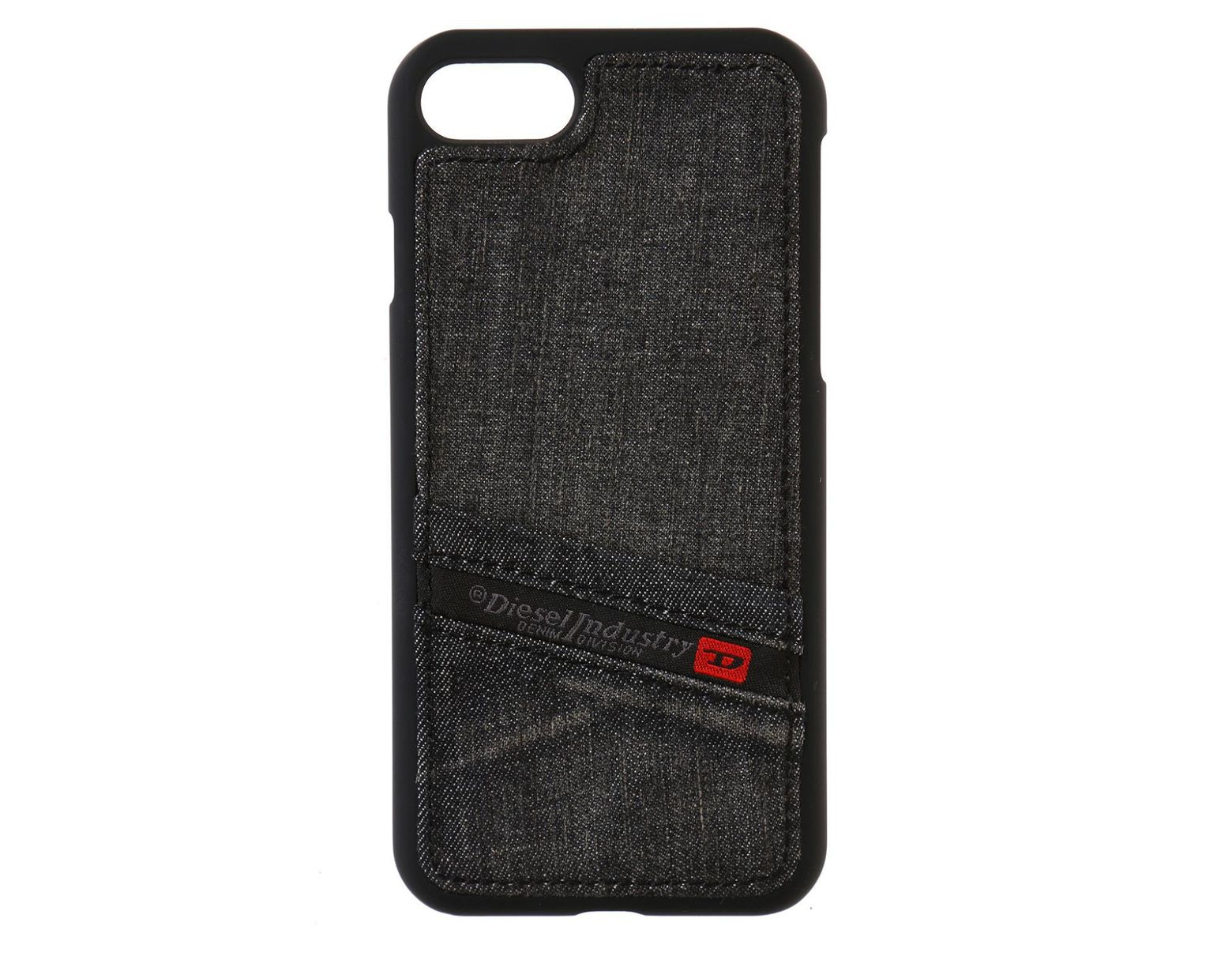 216c982fa0b4 DIESEL Denim Iphone 7 Case in Black for Men - Lyst