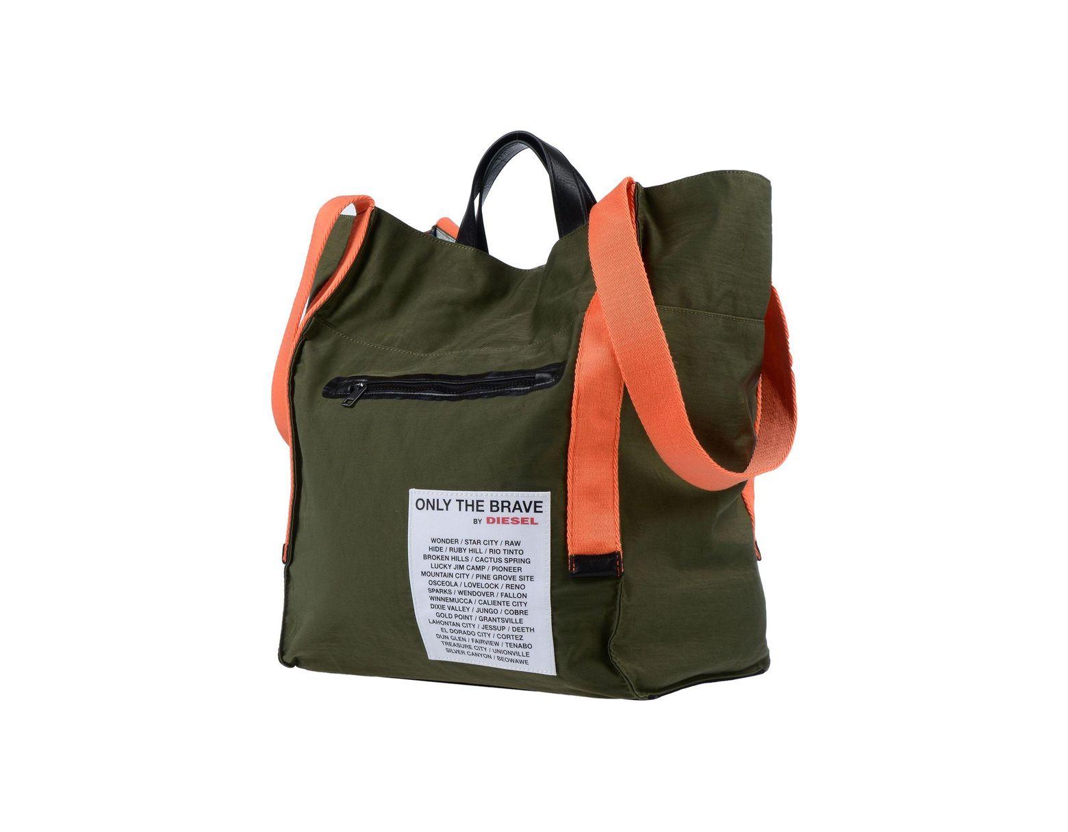b31c7e7f6598 DIESEL Backpacks & Bum Bags in Green for Men - Lyst