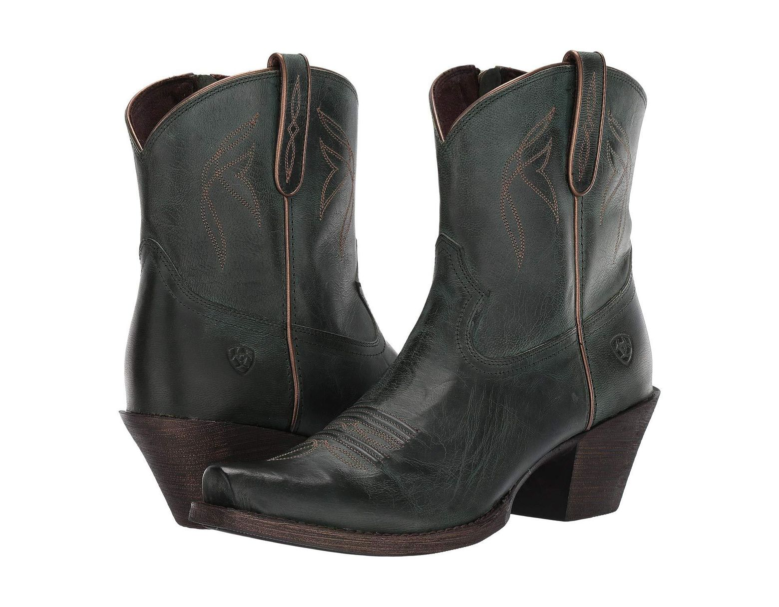 8234c21a567 Ariat Lovely (jackal Black) Cowboy Boots in Brown - Lyst