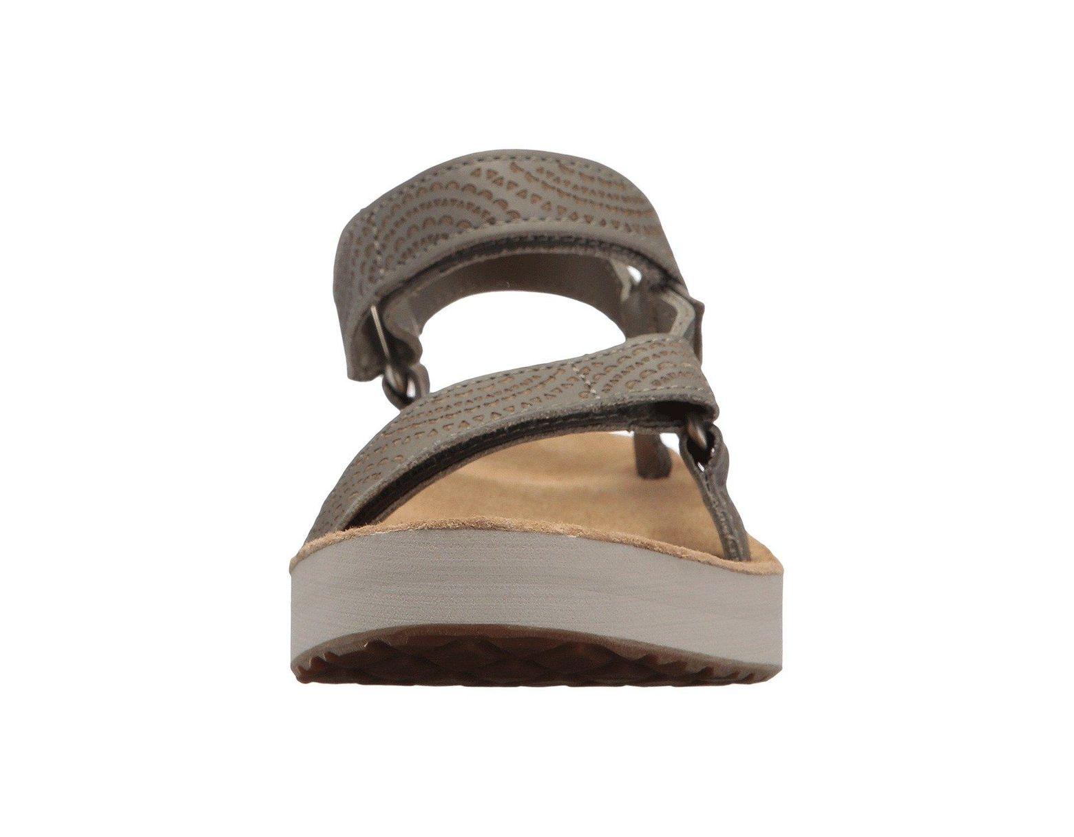 6ae75e636c08 Lyst - Teva Midform Universal Geometric (tan) Women s Shoes