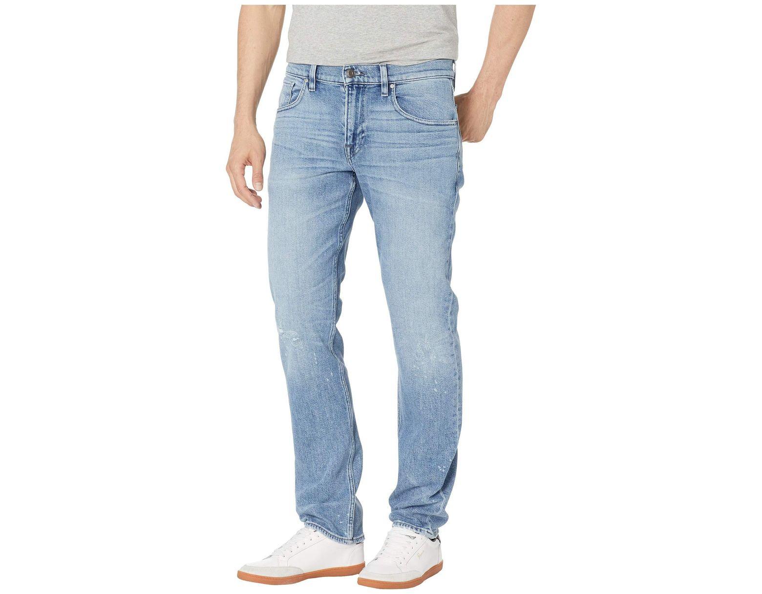 ddcd145ab19 Lyst - Hudson Jeans Blake Slim Straight Zip Fly Jeans In Stiles (stiles) Men's  Jeans in Blue for Men