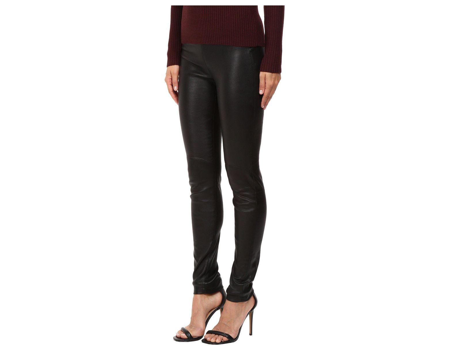 23e10c5123174a Lamarque Kelly-l Stretch Leather Leggings in Black - Save 60% - Lyst