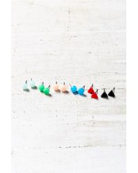 Urban Outfitters - Multicolor Boom Pop Geo Color Post Earring Set - Lyst
