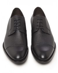 Jules B - Black Lace Up Derby Shoes for Men - Lyst
