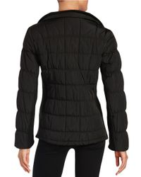 Calvin Klein | Black Down Puffer Coat | Lyst