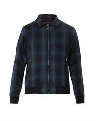Marc By Marc Jacobs - Blue Renton Plaid Zip Jacket for Men - Lyst