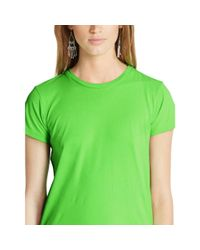 Polo Ralph Lauren - Green Pony Cotton Jersey Tee - Lyst