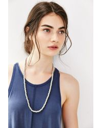 Urban Outfitters - Pink Marlo Pop Color Beaded Necklace - Lyst