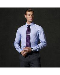 347014c1bc Ralph Lauren Purple Label Striped Aston Dress Shirt in Purple for ...