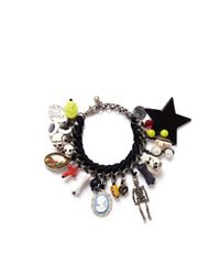 Venessa Arizaga | Black 'charmed Memories' Bracelet | Lyst