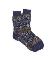 J.Crew - Blue Anonymous Ism Navy Socks for Men - Lyst