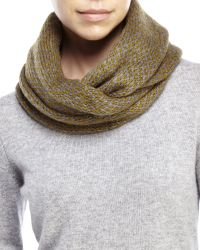 Wooden Ships - Green Dylan Infinity Scarf - Lyst