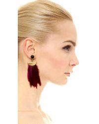 Lizzie Fortunato - 'pink Parrot' Earrings - Lyst