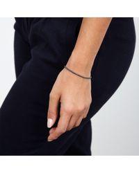 Astley Clarke | Black 'biography' Beaded Bracelet | Lyst