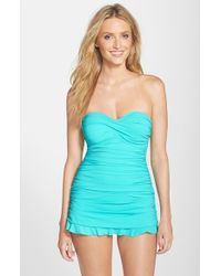 Gottex | Blue 'tutti Frutti' Swim Dress | Lyst