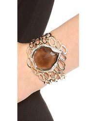 Alexis Bittar - Metallic Aiguille Cutout Cuff Bracelet - Lyst